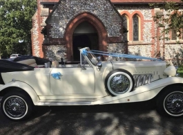 White Beauford for weddings in Southsea